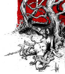 Evil Dead by nicktheartisticfreak