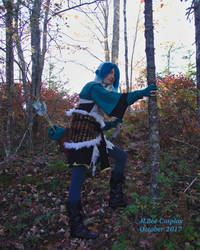 Setsuna On the Lookout by JLBee