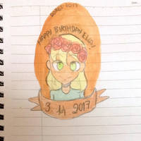 MRA - happy very very belated birthday ella  by Dorydraws