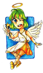 SIA - this is... ANGEL! by Dorydraws