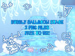 BG - Bubbly Ballroom Stage  by Dorydraws