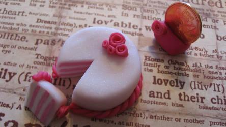 valentine cake by maytel