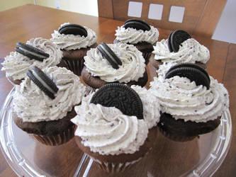 Oreo Cupcakes by maytel