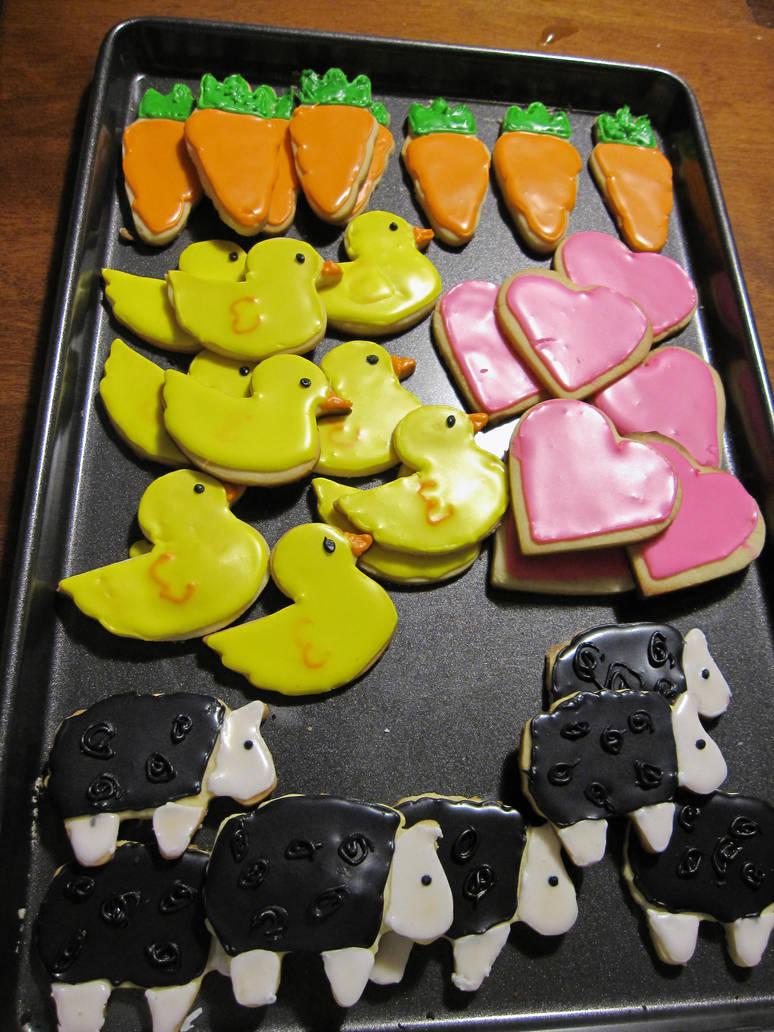 Spring Sugar Cookies by maytel