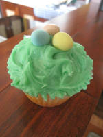 Easter Cupcake by maytel