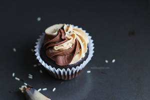 Chocolate peanut butter cupcakes by maytel