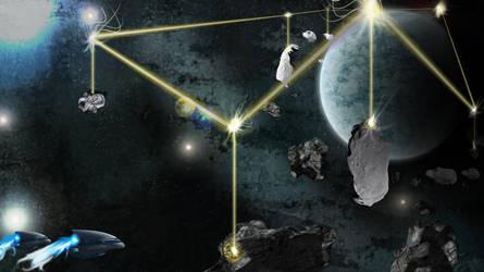 Space Batrier by B-In-F