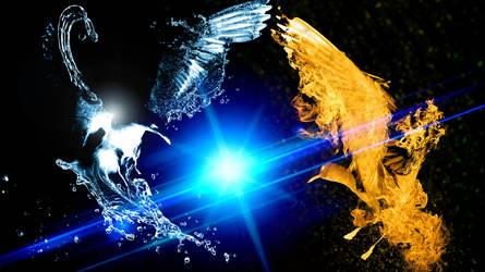 Phoenix vs Waterbird by B-In-F