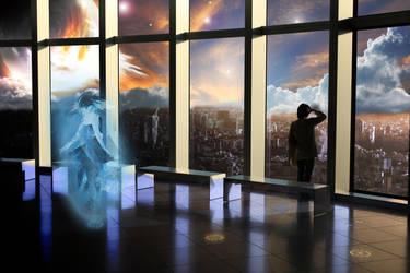 Futuristic Scenery by B-In-F