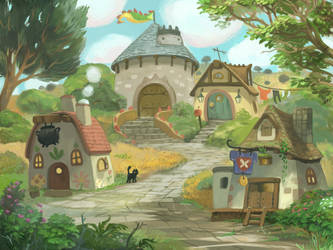 Town by Awesome-Deviant-Name