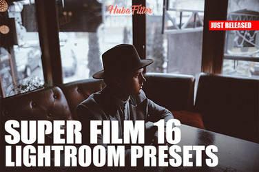 Super Film 16 Lightroom Presets + Toolkit by hubafilter