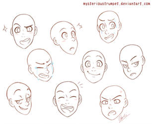 Expression Sketch Dump by mysterioustrumpet