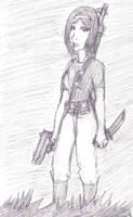 Luiza the wandering warrior by SebastiansSire