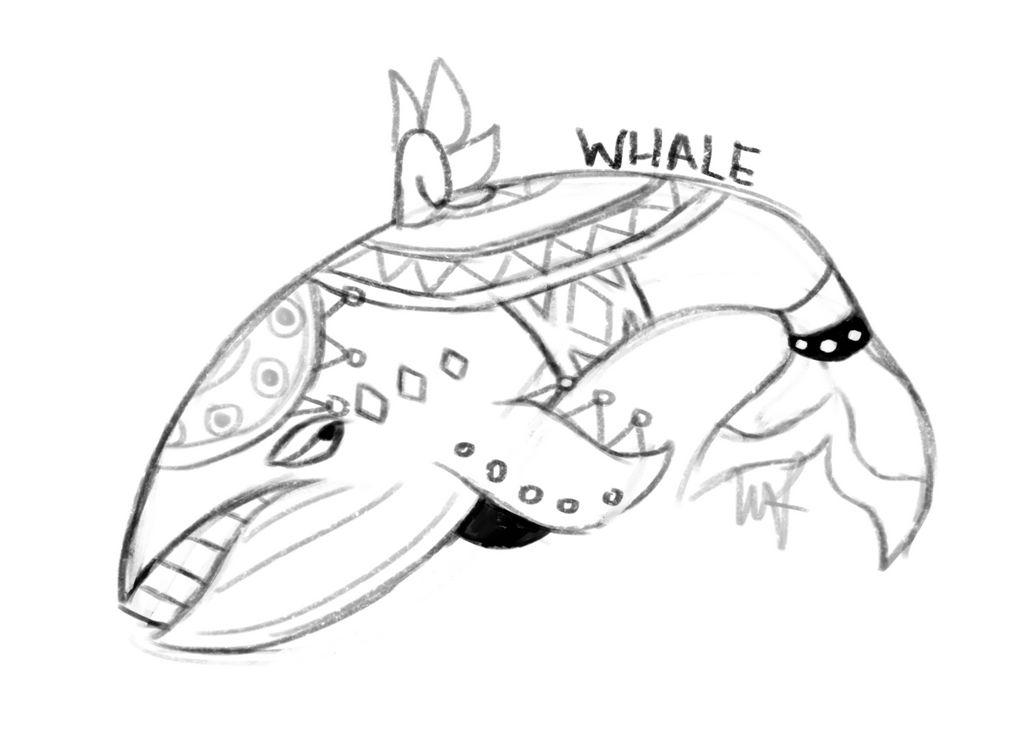 Whale by DrakynRoll