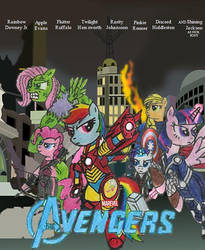 Marevel's Avengers Movie Poster by Iven-Furrpaw