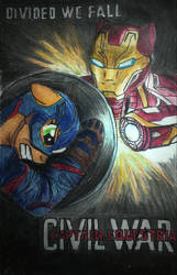 Captian Equestria: Civil War Movie Poster by Iven-Furrpaw