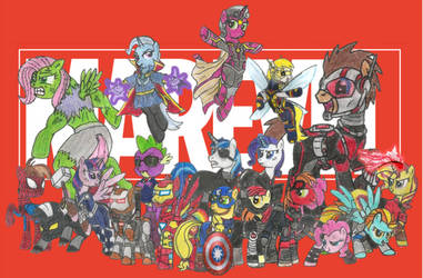 Marevel Avengers by Iven-Furrpaw