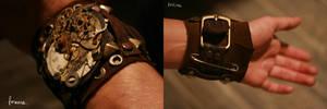 steampunk bracelet by uglyshit