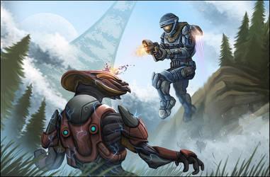 Halo Reach : Invasion by leywad