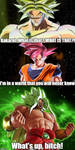 Broly becomes a God by Montyclan