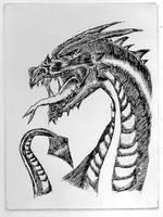 Dragon by LittleCrowStudio