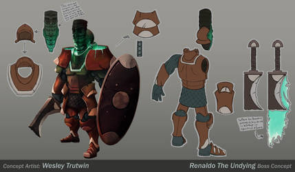 Renaldo the Undying by tfZanben