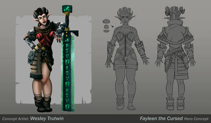 Fayleen the Cursed by tfZanben