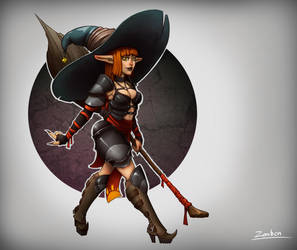 Witch by tfZanben