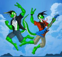 Rocking Twins by McTaylis