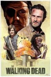 The Walking Dead Poster by MattiasArt