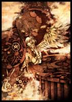 Contest: Steampunk Angel by kkako