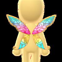 Flower Fairy Wings by Rosemoji