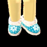 Snowflake Shoes by Rosemoji