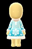 Snowflake Dress by Rosemoji