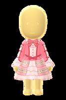 Sweetie Lace Dress by Rosemoji
