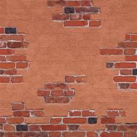 Bricks And Mortar (red) by Rosemoji