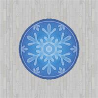 White Flooring And Snowflake Rug by Rosemoji