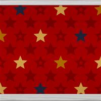 Multicolour Stars (red) by Rosemoji