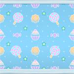 Sweets  Dots (pale blue) by Rosemoji