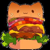 Cat Burger by Rosemoji