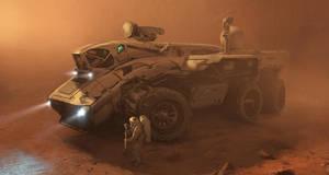 Exoplanetary Vehicle by Phade01