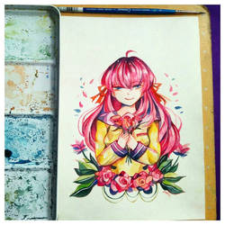 art trade with uta by kotakmicin