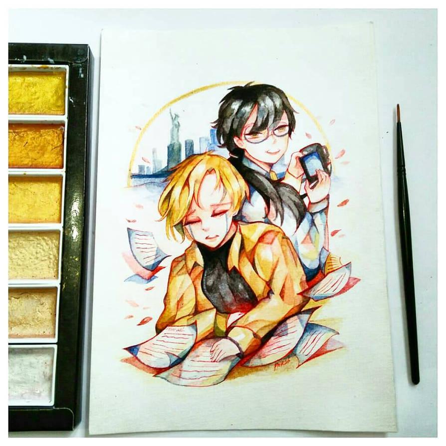 asheiji forever  by kotakmicin