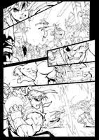 joe mad street fighter inks by westwolf270