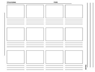 Storyboard Template hirez TIFF by westwolf270