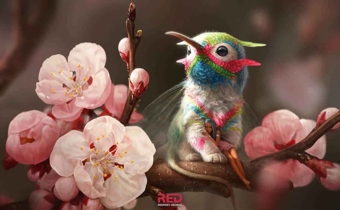 florem grypem Latin: floral griffin by RedreevGeorge
