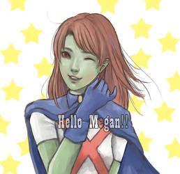 Hello Megan by pinglai