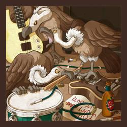 Them Crooked Vultures by scoundreldaze