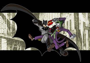 The Joker's on him by scoundreldaze