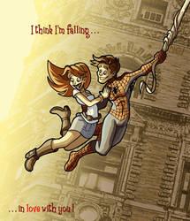 Swinging in Love by scoundreldaze